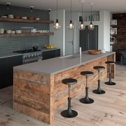 Sleek Concrete finish Caesarstone