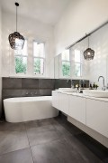 Caesarstone bathroom - East Malvern