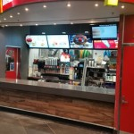 Stone benchtops at Macca's Express Cranbourne